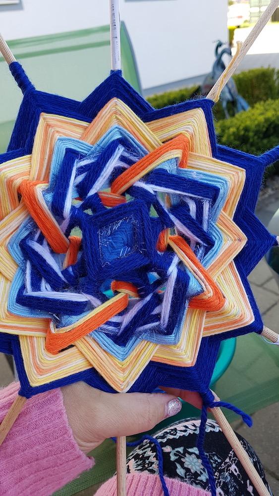 Kreativ mit Mandala, 3 x Viereck