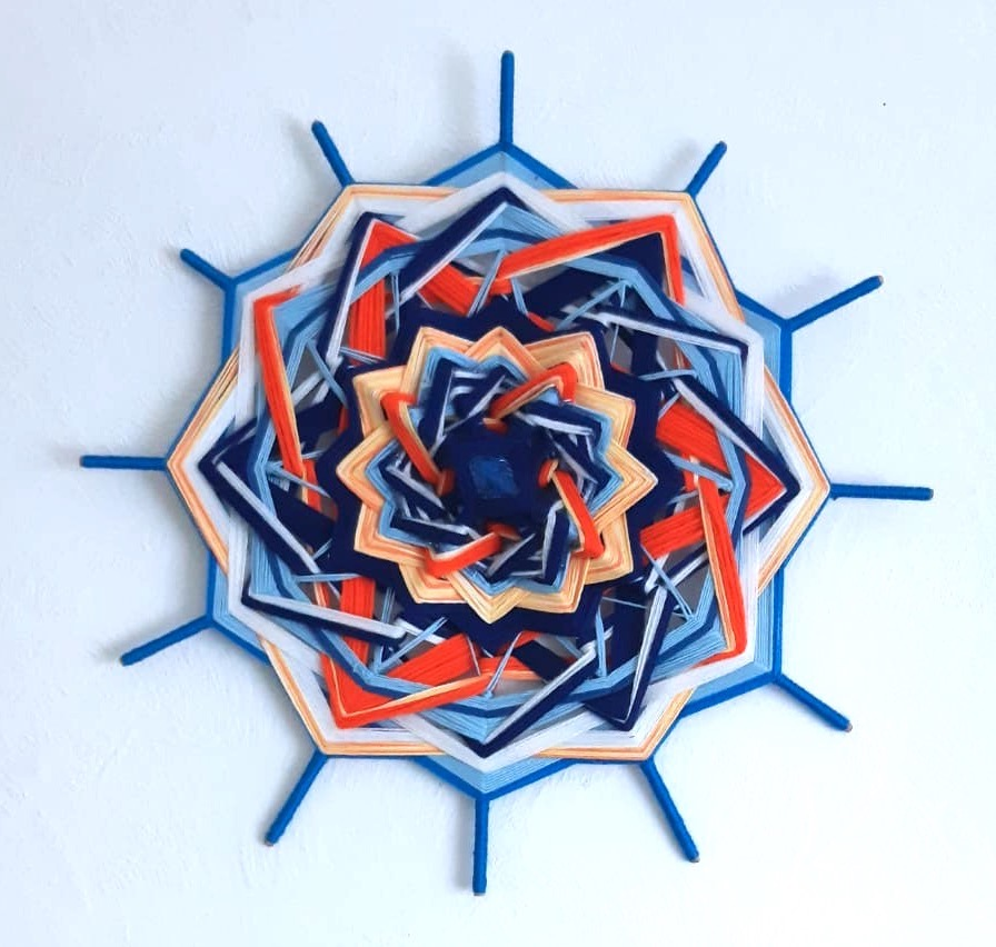 Indianisches Mandala - kreative Lebensberatung von Irina Hempel