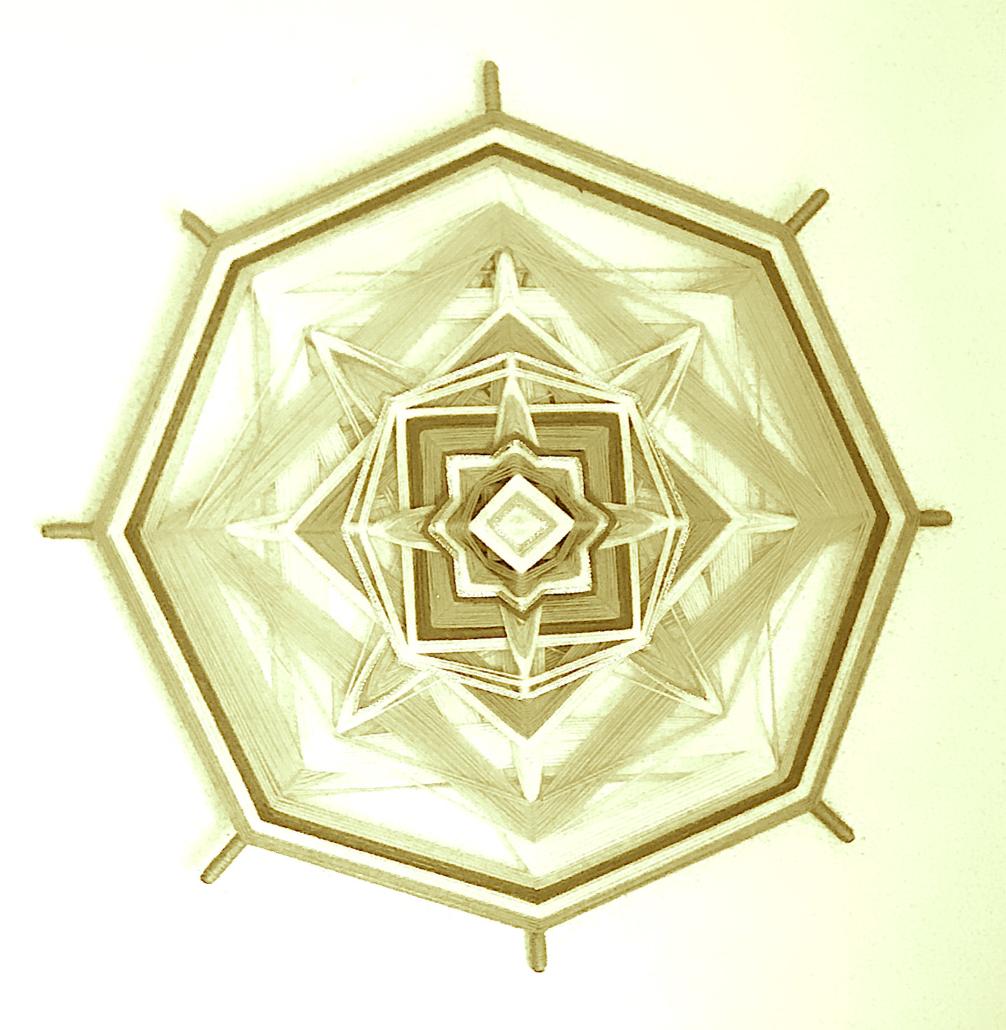Mandala - der Weisse Krieger