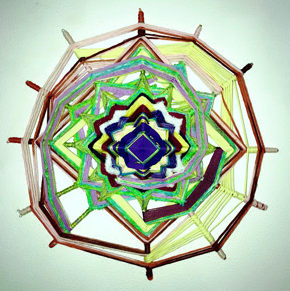 Kreative Spiral Mandala