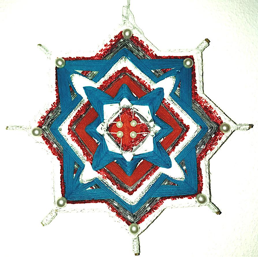 Kreativ mit Mandala, Wasser & Feuer Mandala