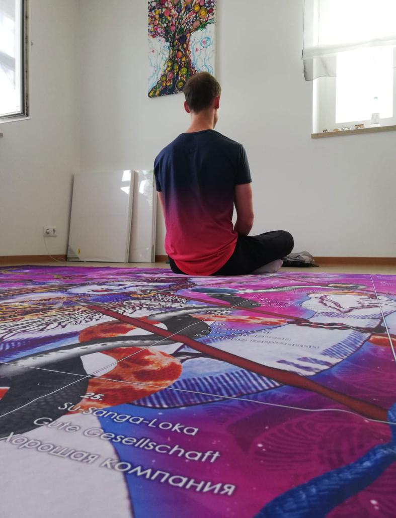 "Gute Geselschaft Su-Sanga-Loka ,Spiel ""Leela - wie sie ist"""