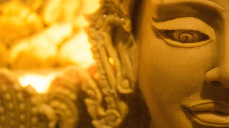 Buddha Statue, kreative psychologischen Beratung von Irina Hempel