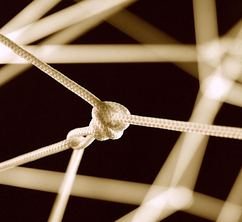 Verbindungsknoten im Ahnenbaum-Rad