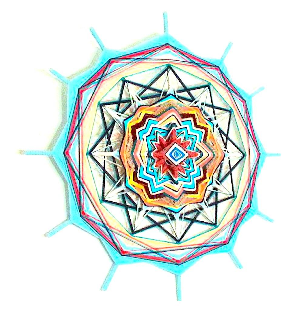 Kreativ mit Mandala, Mutterliebe Mandala Larissa