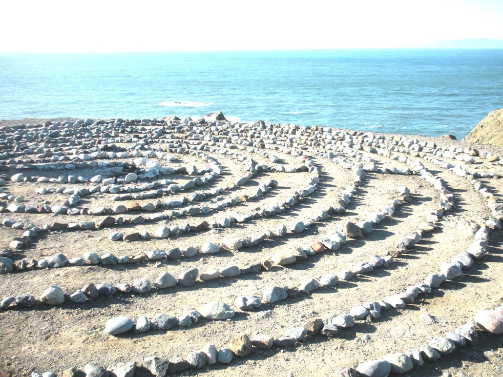 Ahnen-Baum-Rad, Symbolik des Labyrinths