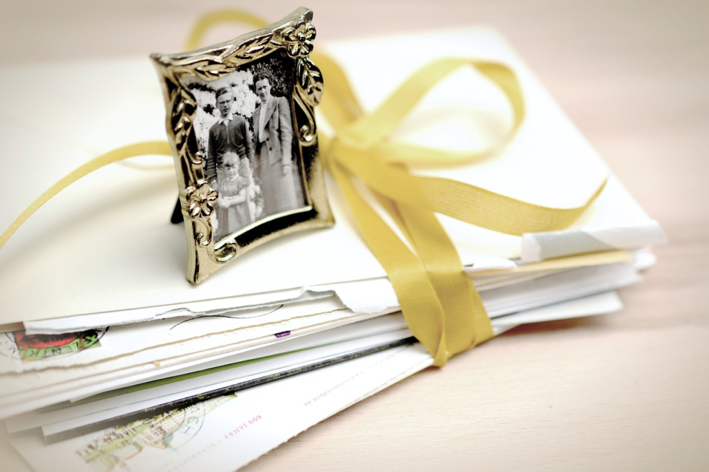 Briefe an Familie, Familienaufstellung