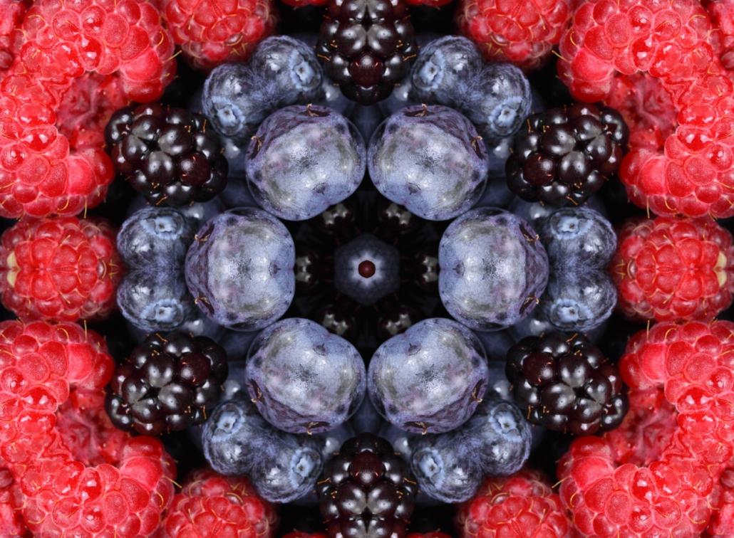 Kreativ mit Mandala, Symbolik der Beeren
