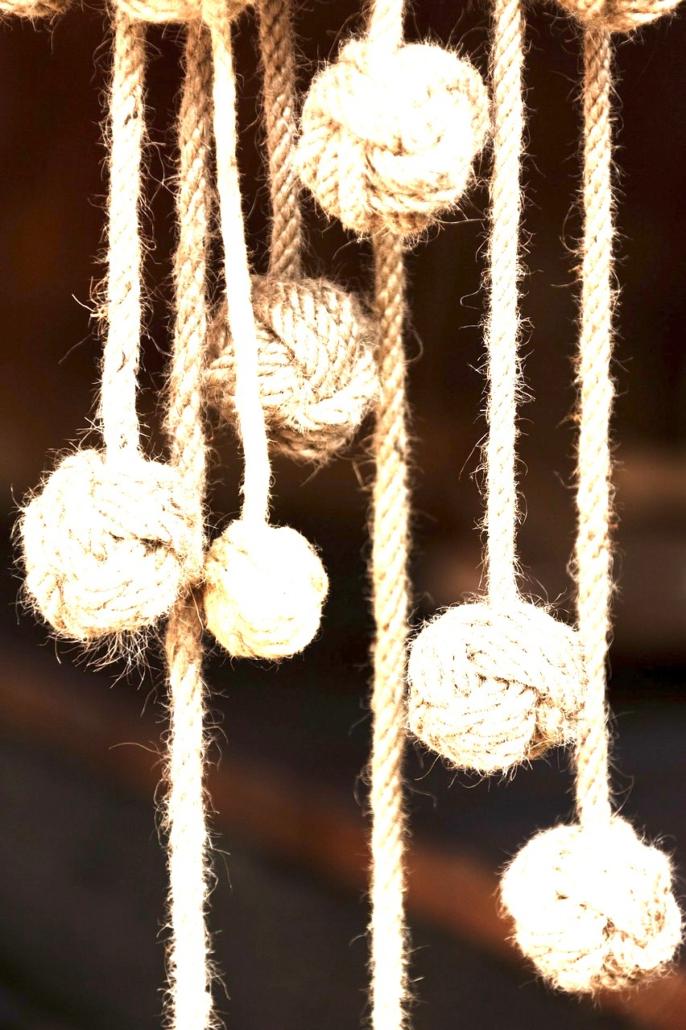 Ahnen-Baum-Rad, hängende Knoten Bälle